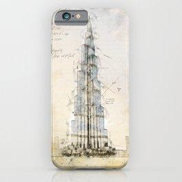 Burj Khalifa, Dubai iPhone Case