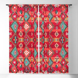 Epic Red Oriental Anthropologie Berber Atlas Moroccan Style Blackout Curtain