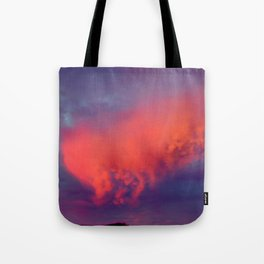 Floating Caterpillar in the Sky Tote Bag
