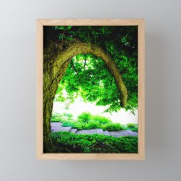 Park idyll Framed Mini Art Print