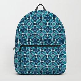 Arabic mosaic ornament Backpack