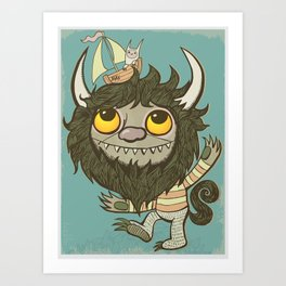 An Ode To Wild Things Art Print
