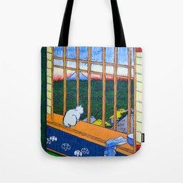 Asakusa Tanbo Tori No Machi Mode (after Hiroshige) Tote Bag