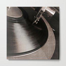 old tracks Metal Print