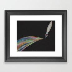 Color Brush Framed Art Print