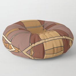 abstract geometric design for your creativity    Floor Pillow