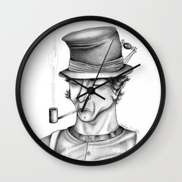 The mind traveller Wall Clock