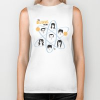 the big bang theory Biker Tanks featuring The Big Bang Theory by ilusland .:. marcelo BAdARI