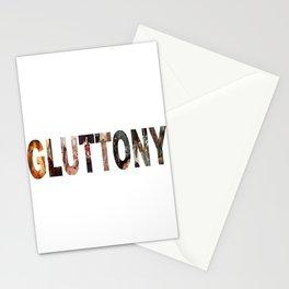 Gluttony Stationery Cards