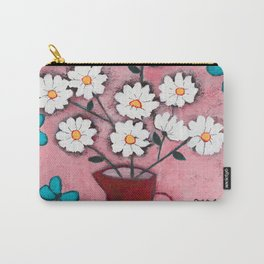 Daisies and Friends Carry-All Pouch