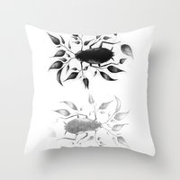 bugs Throw Pillows featuring bugs by David Cristobal