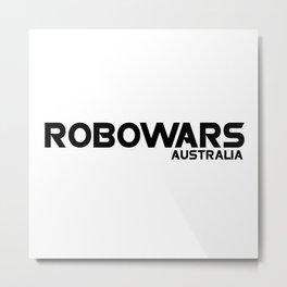 Robowars AU Logo Metal Print
