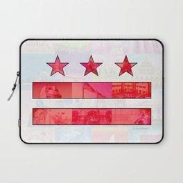 DC Scenes Flag Laptop Sleeve