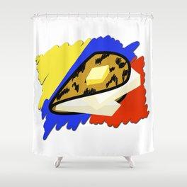 Cachapa Shower Curtain