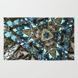 Blue Pine Rug