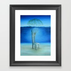 Island Trees Framed Art Print