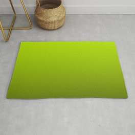 Slime Green and Black Deadly Ombre Nightshade Rug