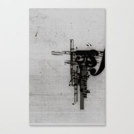 Piano Declination Canvas Print