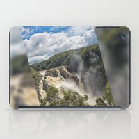 geology iPad Cases featuring Beautiful Barron Falls by Wendy Townrow