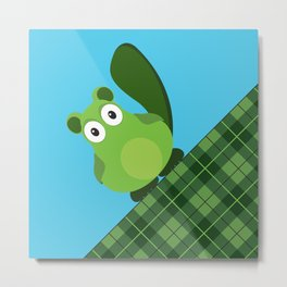 Vacka skottish plaid Metal Print