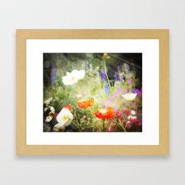 Magic Poppies Framed Art Print