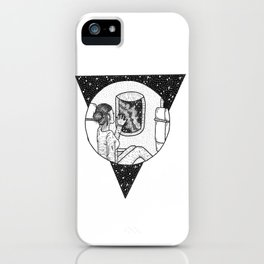 Reach out and touch the Cosmos iPhone Case