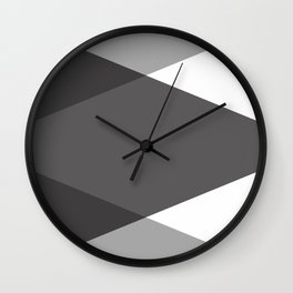 White and Grey Wall Clock