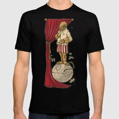 Foolish Mortals...It's a TRAP. X-LARGE Black Mens Fitted Tee