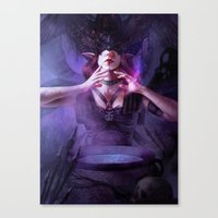 alchemy Canvas Prints featuring Alchemy by aStripedUnicorn