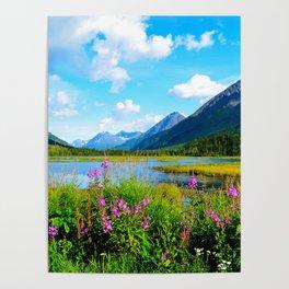 God's Country - Summer in Alaska Poster