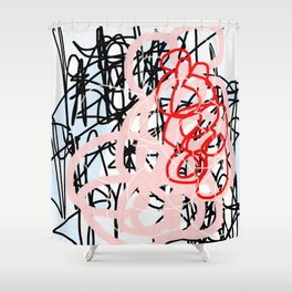 A Sure Thing Shower Curtain