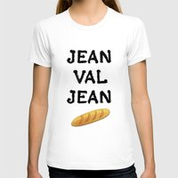 cassandra jean T-shirts featuring jean val jean by Bread Sports