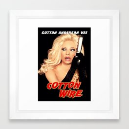 Cotton Anderson Vee Framed Art Print