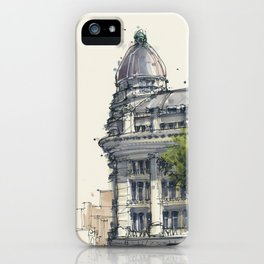 Hirsch Building Amsterdam iPhone Case