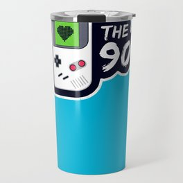 I Heart the 90's Travel Mug