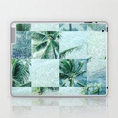 Palm tree mosaic Laptop & iPad Skin
