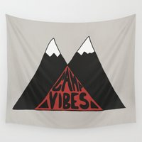 camp Wall Tapestries featuring Camp Vibes by Stephen Brittell