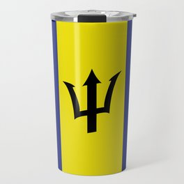 barbados flag Travel Mug