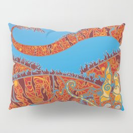 Red Dragon Pillow Sham