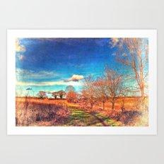 Hunworth to Holt Art Print