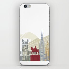 Coventry skyline poster iPhone Skin