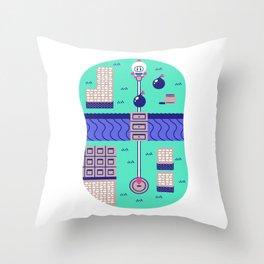 Overworld: Bomba Throw Pillow