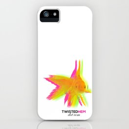 Twisted Hem Merchandise iPhone Case
