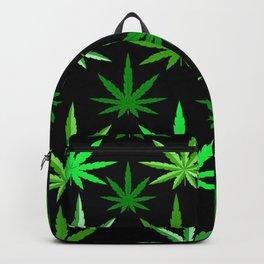 Marijuana Green Weed Backpack