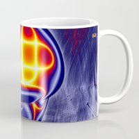 ufo Mugs featuring ufo by donphil