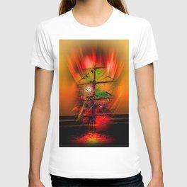 Sailing romance T-shirt