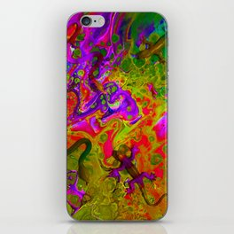 Rainbow Snakes iPhone Skin