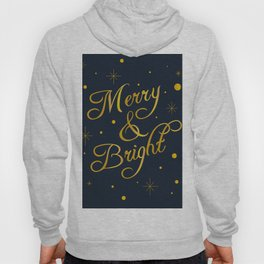 Merry and Bright Holiday Design Hoody