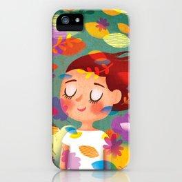 Hello Autmn! iPhone Case