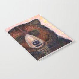 Blissed Out Bear Notebook